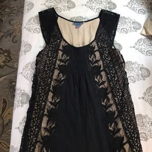 Black tank from Anthropologie.